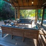 Bateleur Camps Dinning and Lounge area