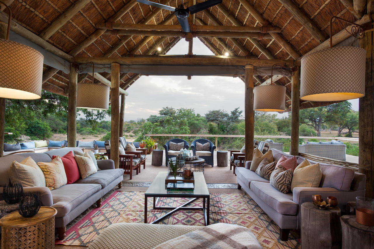 Thornybush Game Lodge, Dinning Louge