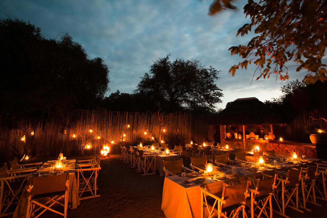 Thornybush Game Lodge, Boma Area