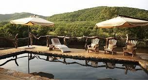 Summerfields Spa & Retreat, Pool area