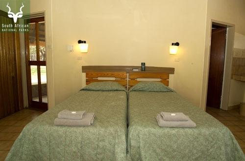 Letaba 2 Sleeper Bungalow Bedroom