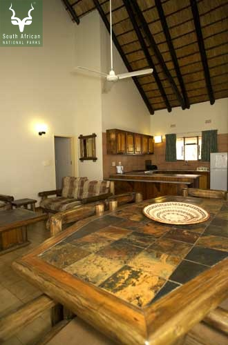 Letaba Guest Cottage Inside Area