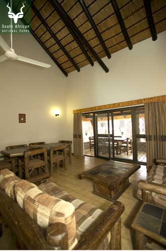 Letaba Guest Cottage Living Area