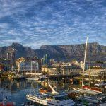 View of Table Mountain from Waterfront