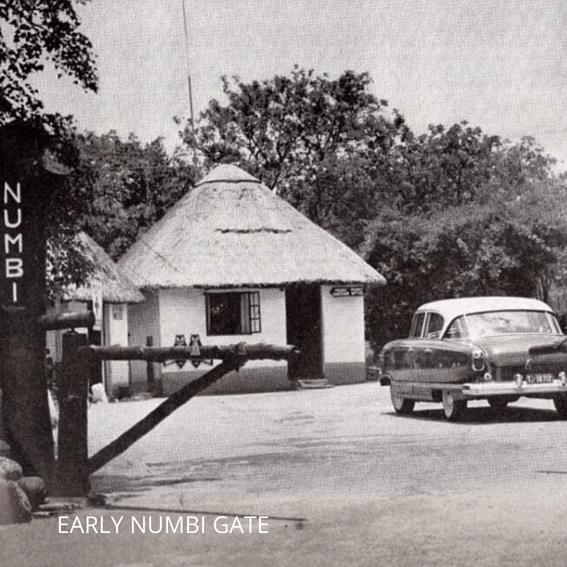 Early NUMBI Gate entrance