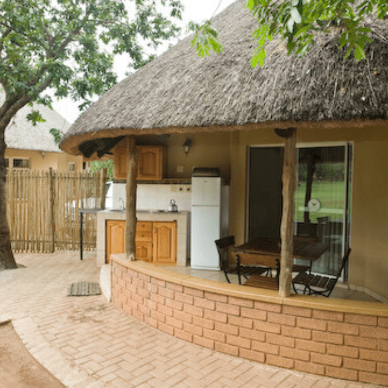 Kruger Park Bungalow Patio