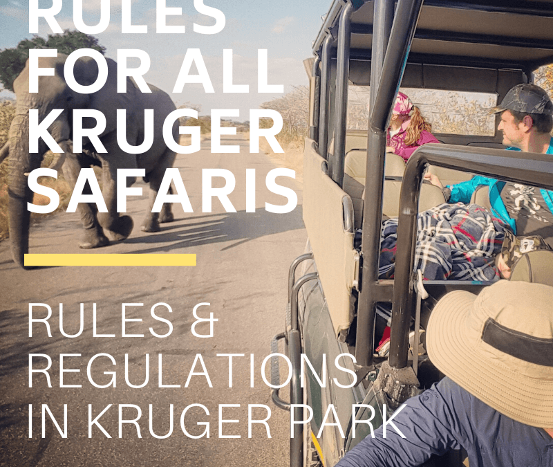 Rules & Regulations of the Kruger National Park