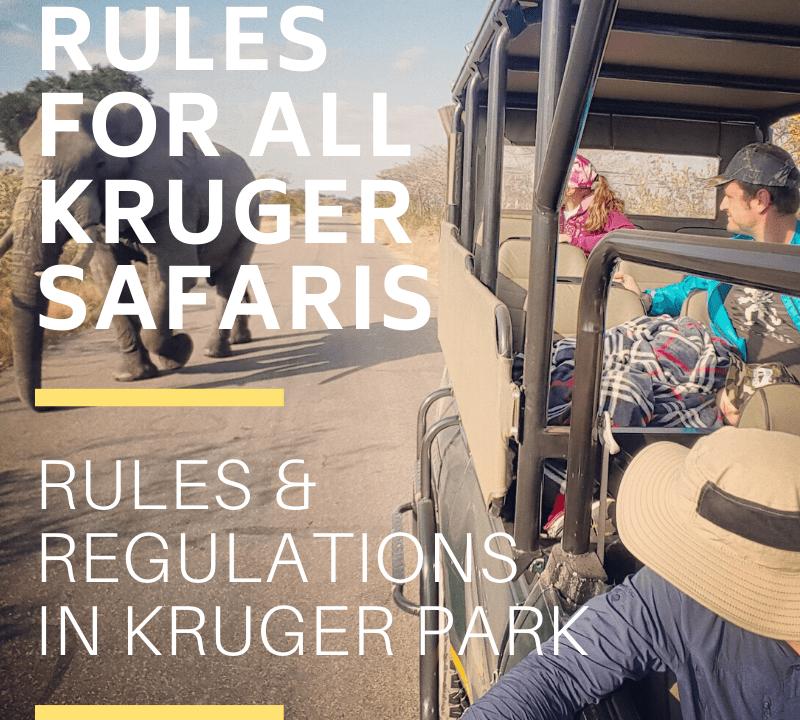 Rules & Regulations of the Kruger National Park