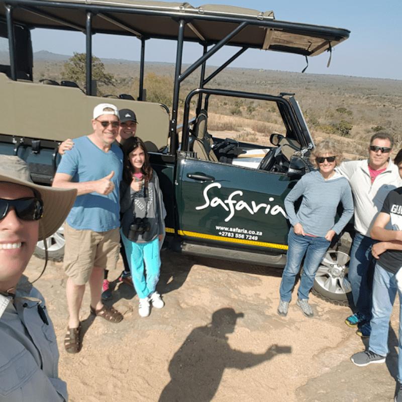 Safaria kruger park clients