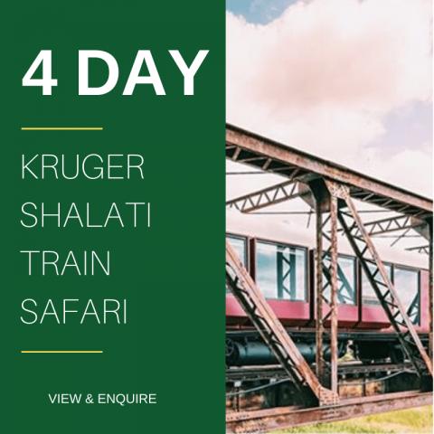 4 Day Kruger Train Safari Shalati