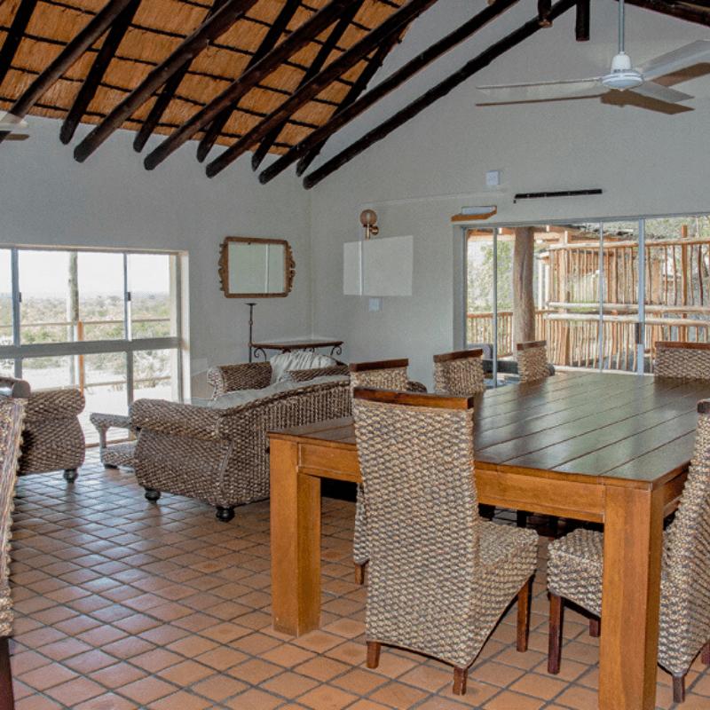Boulders Camp Kruger Park lounge