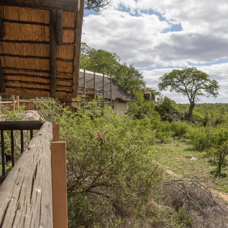 Boulders Campo Kruger Park view