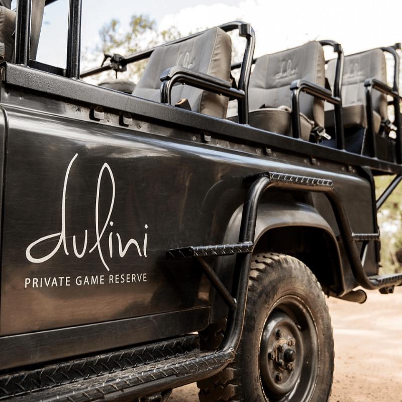 Dulini Leadwood Safari Vehicle